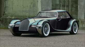 Morgan Plus 8 Tourer