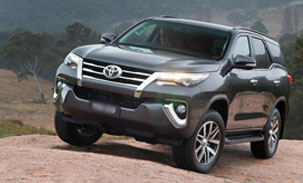 Toyota Fortuner - India - ECU Remapping and Programming