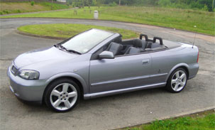 Vauxhall Astra Cabriolet
