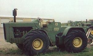 John Deere Series 8020