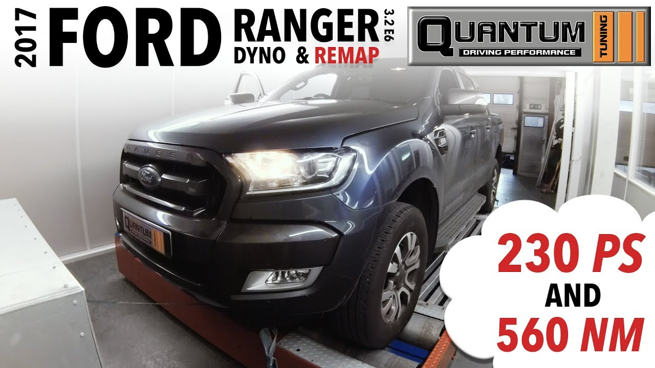 2017 Ford Ranger Dyno Run & Remap