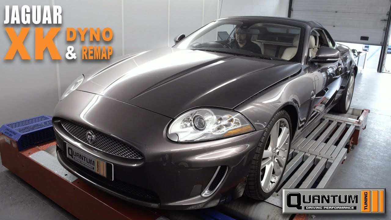 JAGUAR XK Dyno Run & Remap