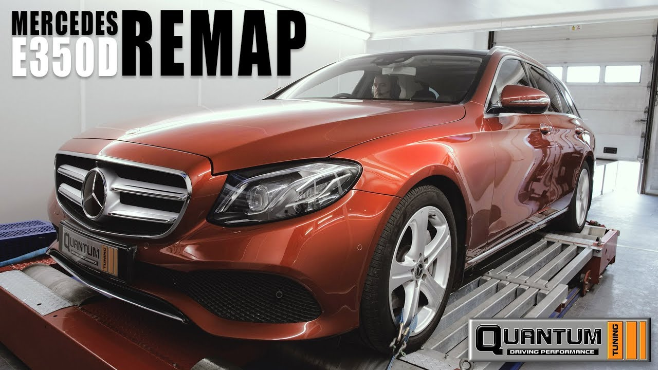 Mercedes E350d ECU Remapping